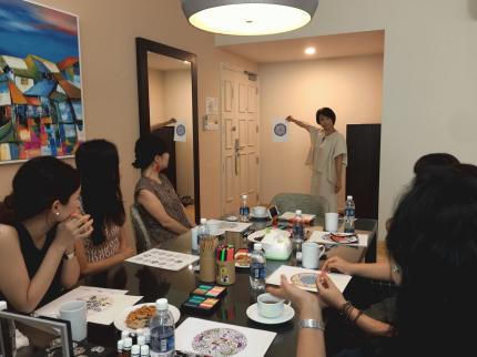 アートセラピスト松田範子さんワークショップ開催